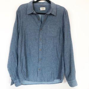 Marine Layer Cotton Button Down Size M/L